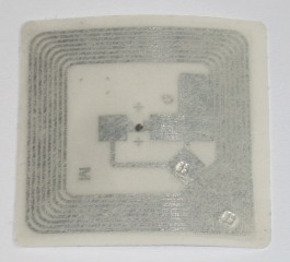 NFC 13.56 MHz Compatible Fudan F08 ISO 14443 A RFID adhesive label-card card S50