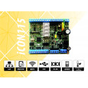 iCON115 Controller for access control and time attendance with built in security system function