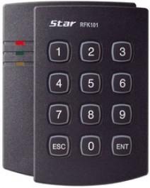 125 kHz PSK Proximity Card / PIN Reader RFK101